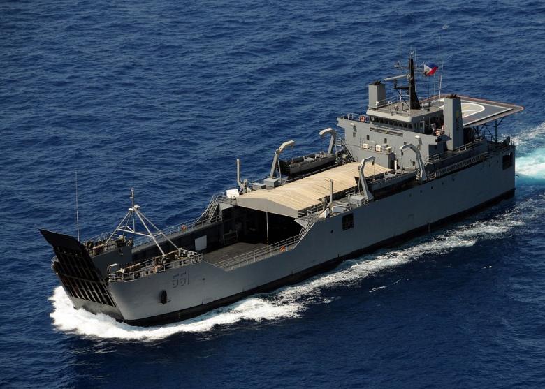 Republic of the Philippines Navy ship BRP Dagupan City. Wikimedia Commons/U.S. Navy