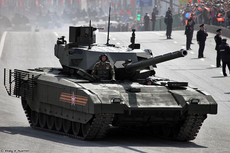 Российский Танк Армата Т-14 против американского Абрамса М-1: кто победит?