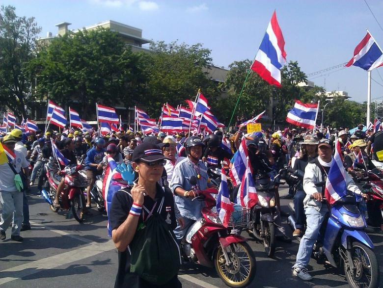 El Ejército da un golpe de Estado en Tailandia tras seis meses de crisis Pix3_0513
