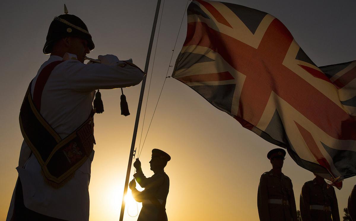 Remembrance Day ceremonies at Episkopi Garrison, Cyprus. Flickr/Defence Images/SAC Helen Rimmer