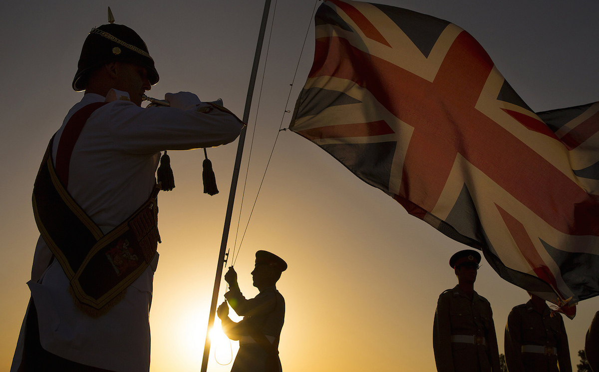 Remembrance Day ceremonies at Episkopi Garrison, Cyprus. Flickr/Defence Images/SAC Helen Rimmer