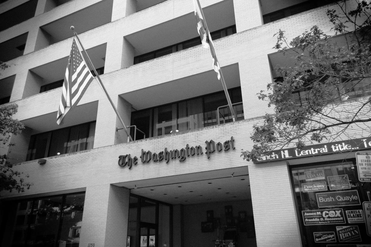 Washington Post headquarters. Flickr/Creative Commons/Max Borge