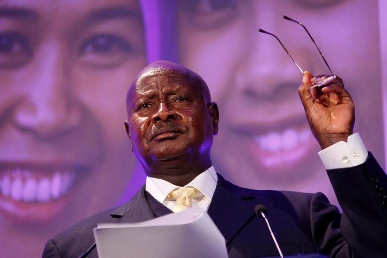 President Yuweri Museveni of Uganda. Wikimedia Commons/Russell Watkins/Department for International Development