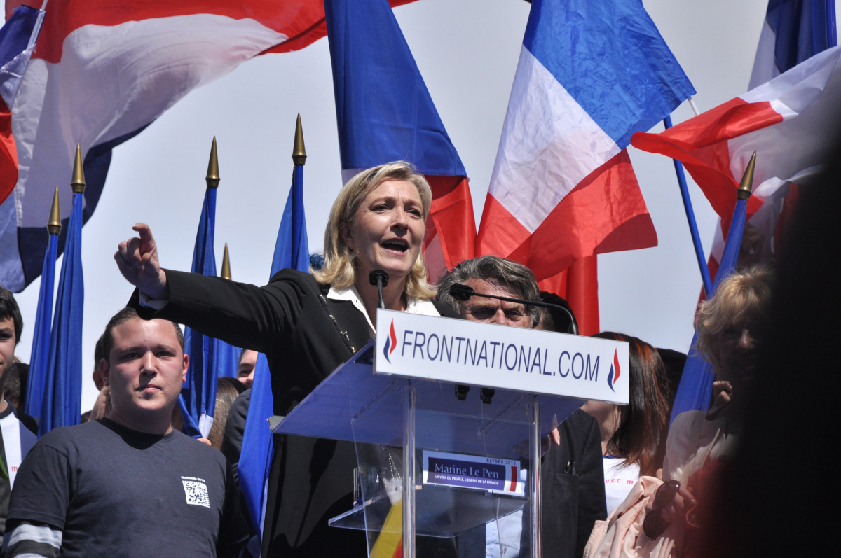 2012 Front National rally. Flickr/Creative Commons/Blandine Le Cain