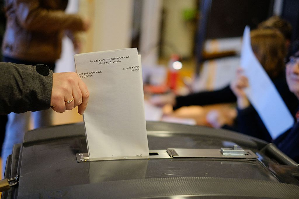 Ballot in 2017's Dutch general election. Wikimedia Commons/Creative Commons/Sebastiaan ter Burg