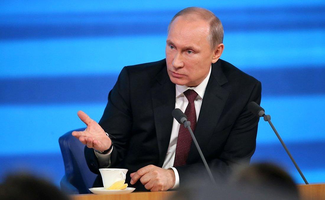 News conference of Vladimir Putin. Kremlin.ru