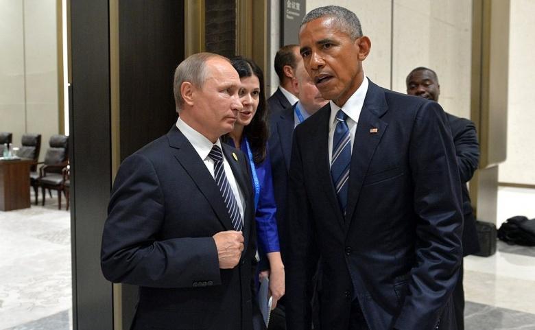 Presidents Vladimir Putin and Barack Obama meet on September 5, 2016. Wikimedia Commons/Kremlin.ru