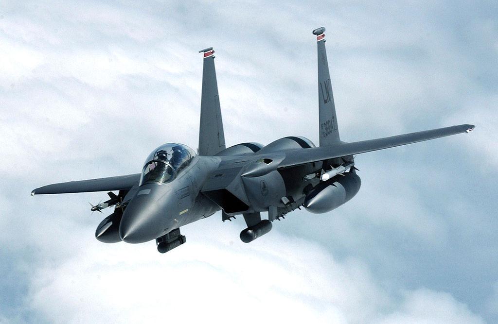 An F-15E Strike Eagle. Wikimedia Commons/U.S. Air Force