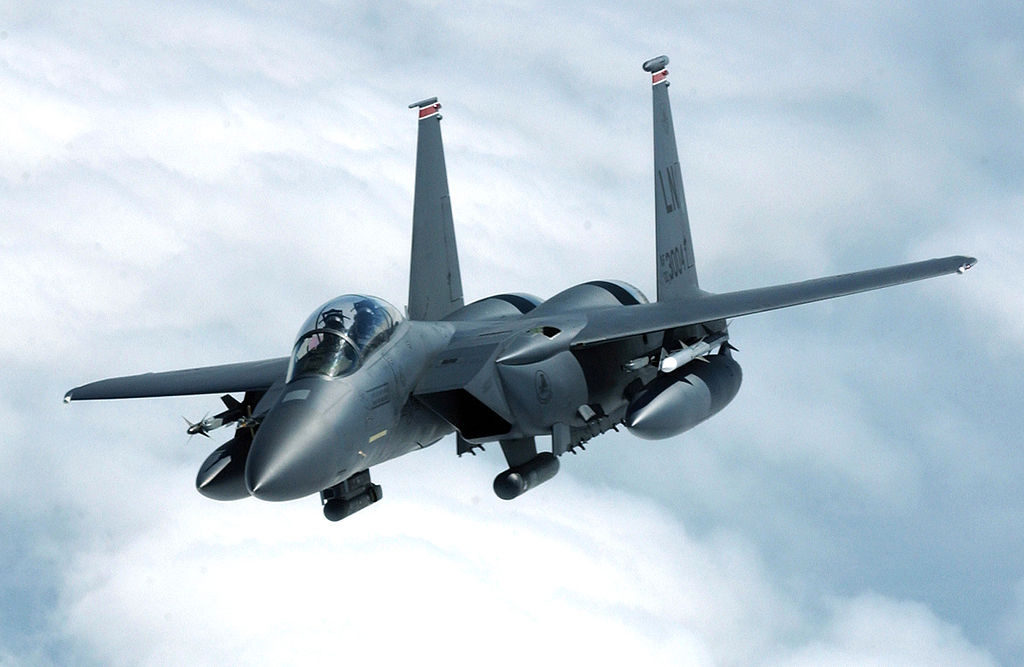 An F-15E Strike Eagle. Wikimedia Commons/U.S. Air Force