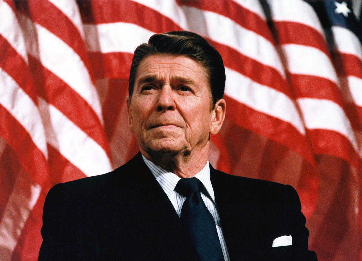 Image result for reagan writing on his desk images