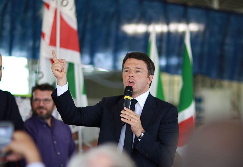 Matteo Renzi in Bologna, June 2016. Wikimedia Commons/Creative Commons/Francesco Pierantoni