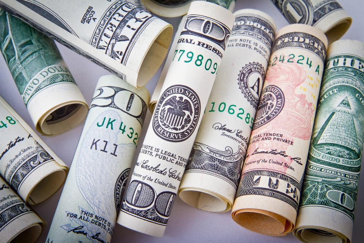 U.S. banknotes. Pixabay/Public domain