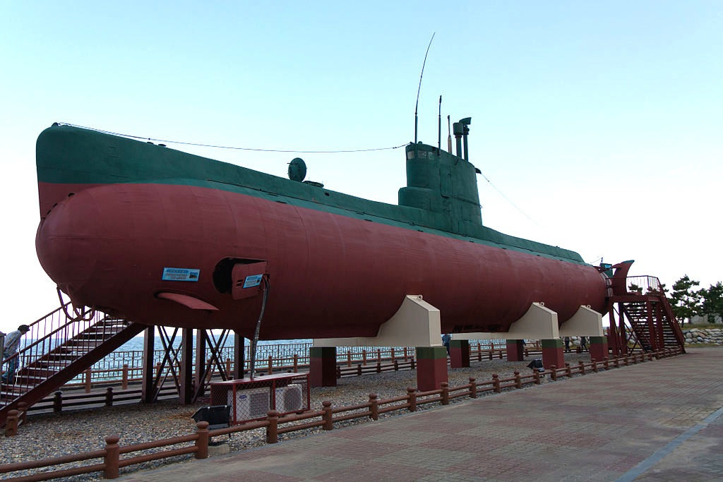 North Korea Beaches Submarine In South Korea