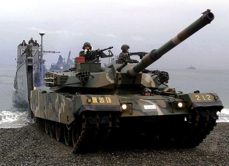 A Republic of Korea Forces Type 88 K1 Main Battle Tank. Wikimedia Commons/U.S. Air Force