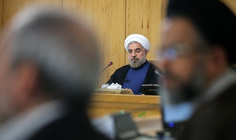 President Hassan Rouhani after a cabinet meeting. Wikimedia Commons/Creative Commons/Siamak Ebrahimi