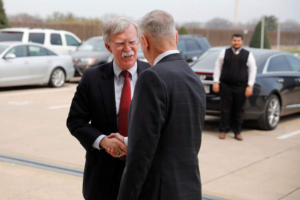 Bolton starts work as national security adviser