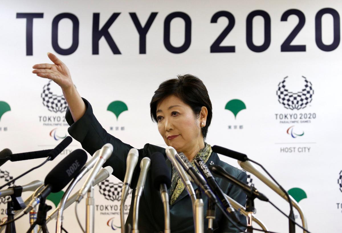 Tokyo Governor Yuriko Koike attends a news conference at Tokyo Metropolitan Government Building in Tokyo, Japan, June 20, 2017. REUTERS/Toru Hanai