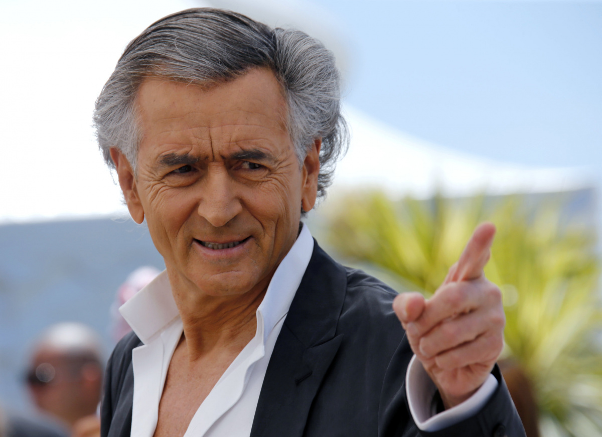 "Director Bernard-Henri Levy pose during a photocall for the film ""Peshmerga"" out of competition at the 69th Cannes Film Festival in Cannes, France, May 20, 2016. REUTERS/Jean-Paul Pelissier"