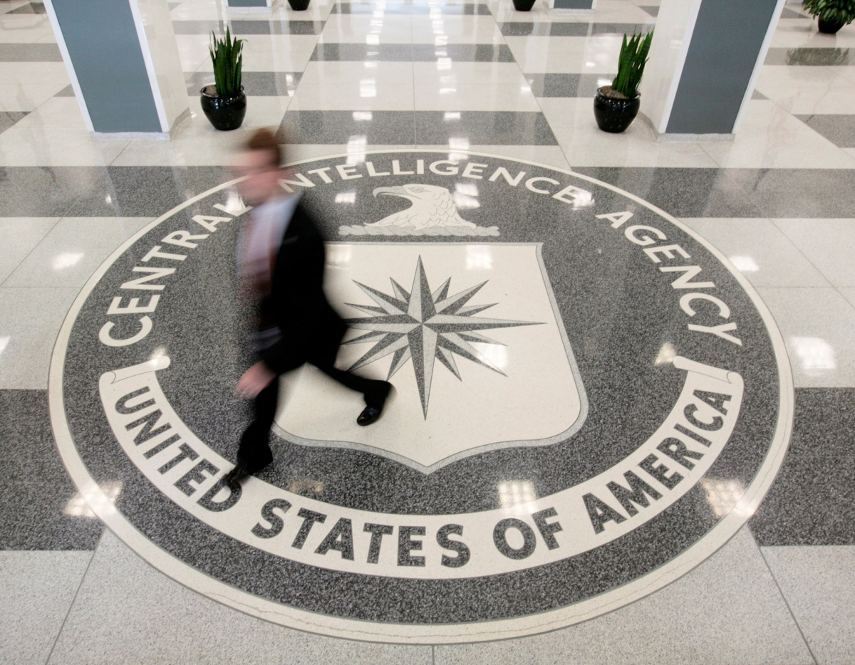 The lobby of the CIA Headquarters Building in Langley, Virginia, U.S. on August 14, 2008. To match Special Report USA-CIA-BRENNAN/ REUTERS/Larry Downing/File Photo