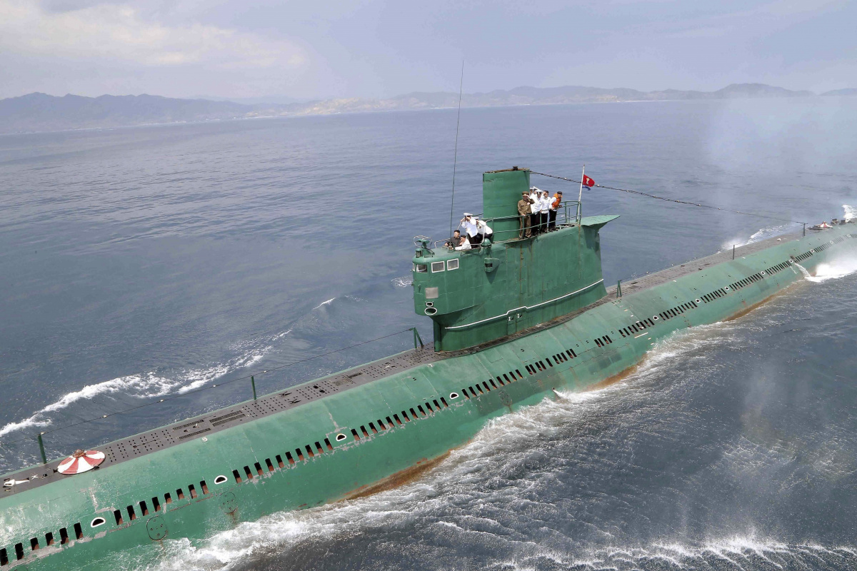 Could North Korea S Submarines Sink The U S Navy In A