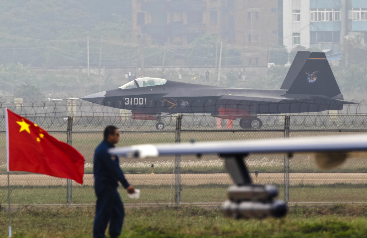 China S J 31 Stealth Fighter Has A New Mission Selling Cars The