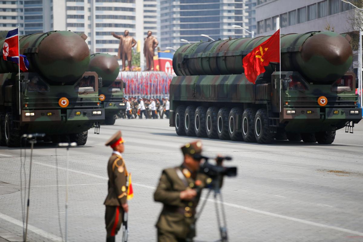 North Korea conducts ballistic missile launch