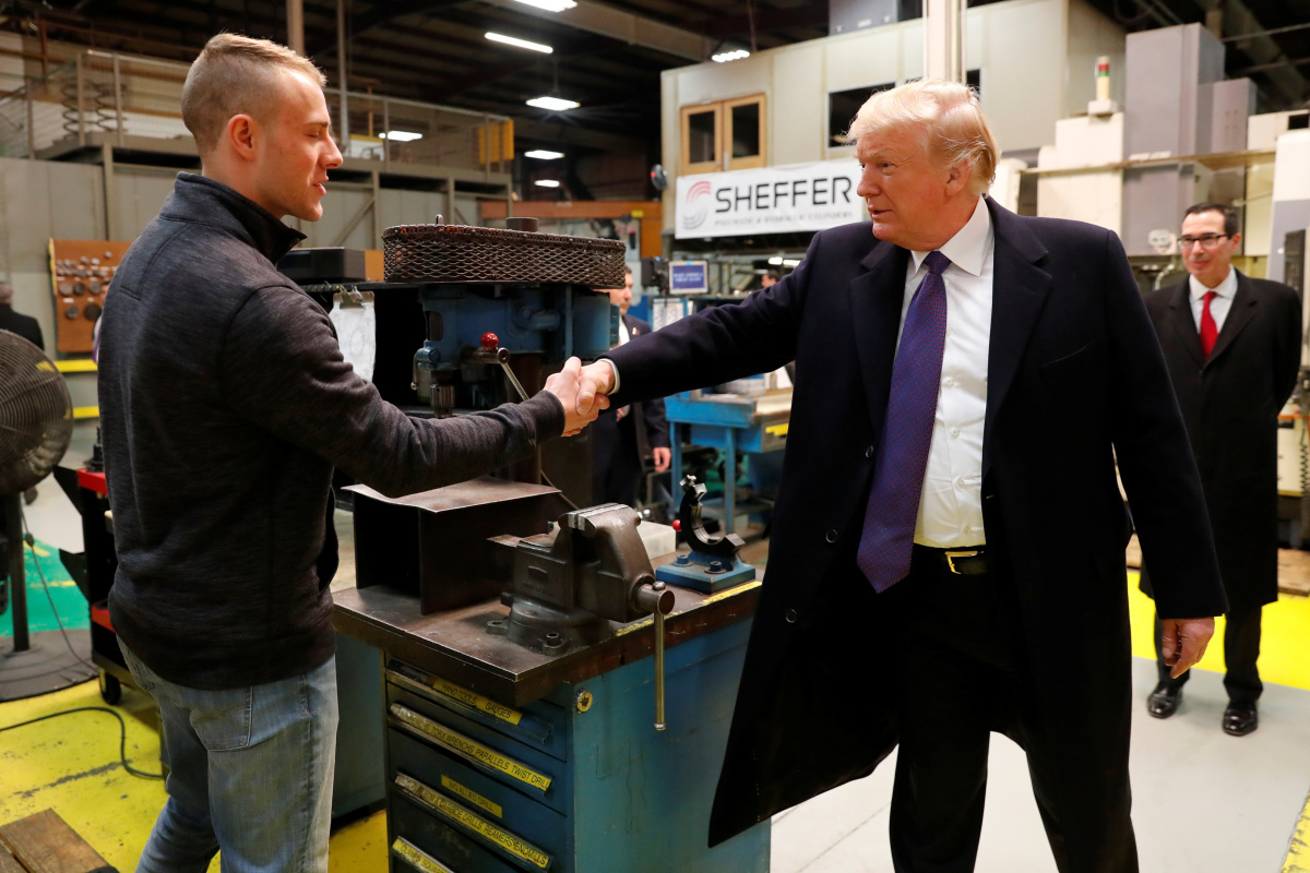Donald Trump: Top economies should drop all tariffs