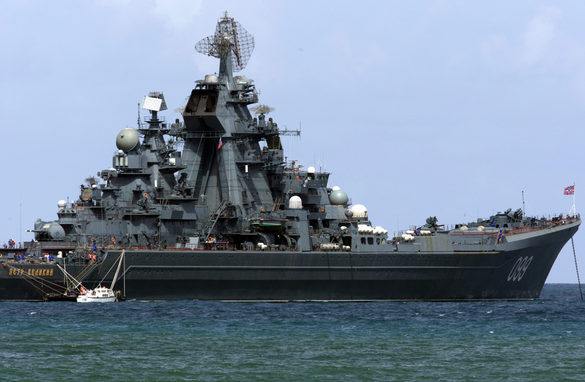 Russia Holds Joint Naval Exercises With China in Baltic Sea