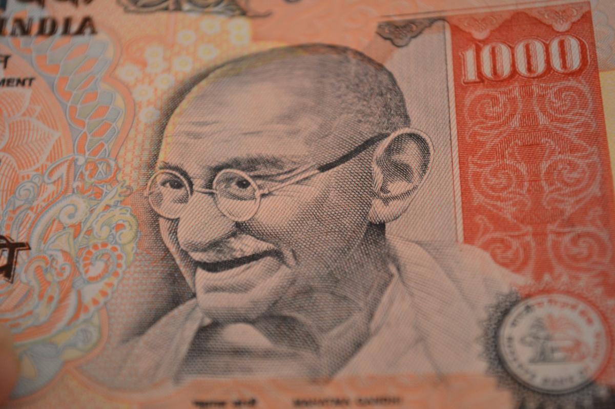Indian thousand-rupee note. Pixabay/Public domain