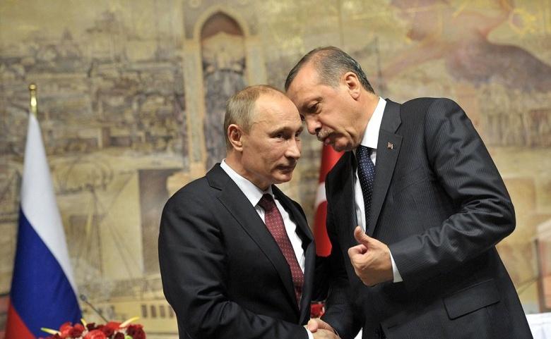 Recep Tayyip Erdoğan and Vladimir Putin. Kremlin.ru