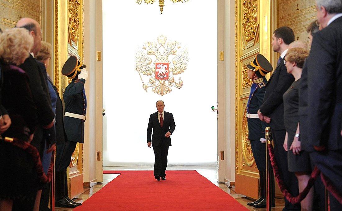 2012 inauguration of Vladimir Putin. Kremlin.ru