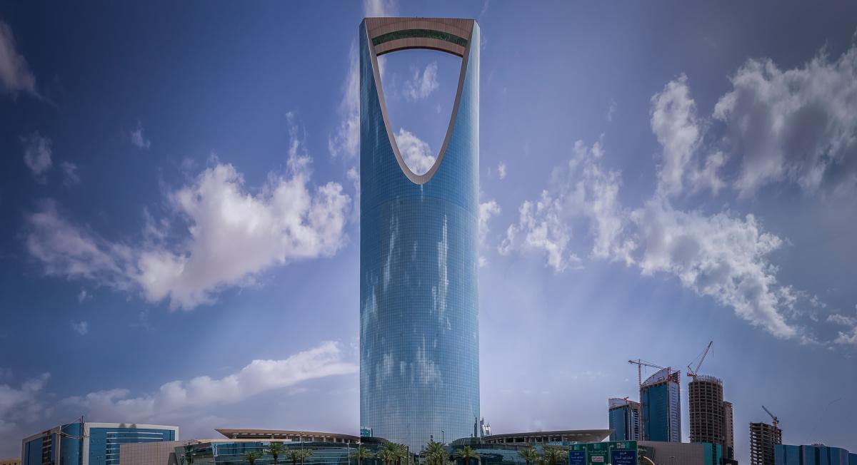 The Kingdom Centre in Riyadh, Saudi Arabia. Flickr/Public domain/Maher Najm