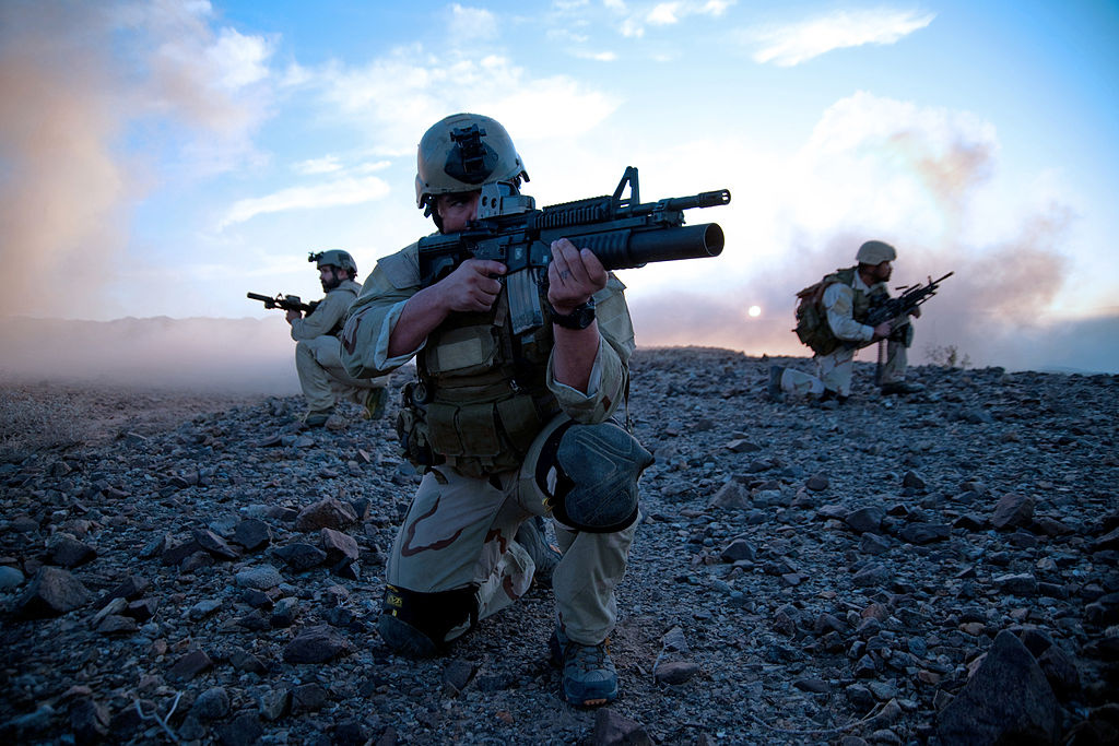 U.S. Navy SEALS. Wikimedia Commons/U.S. Navy