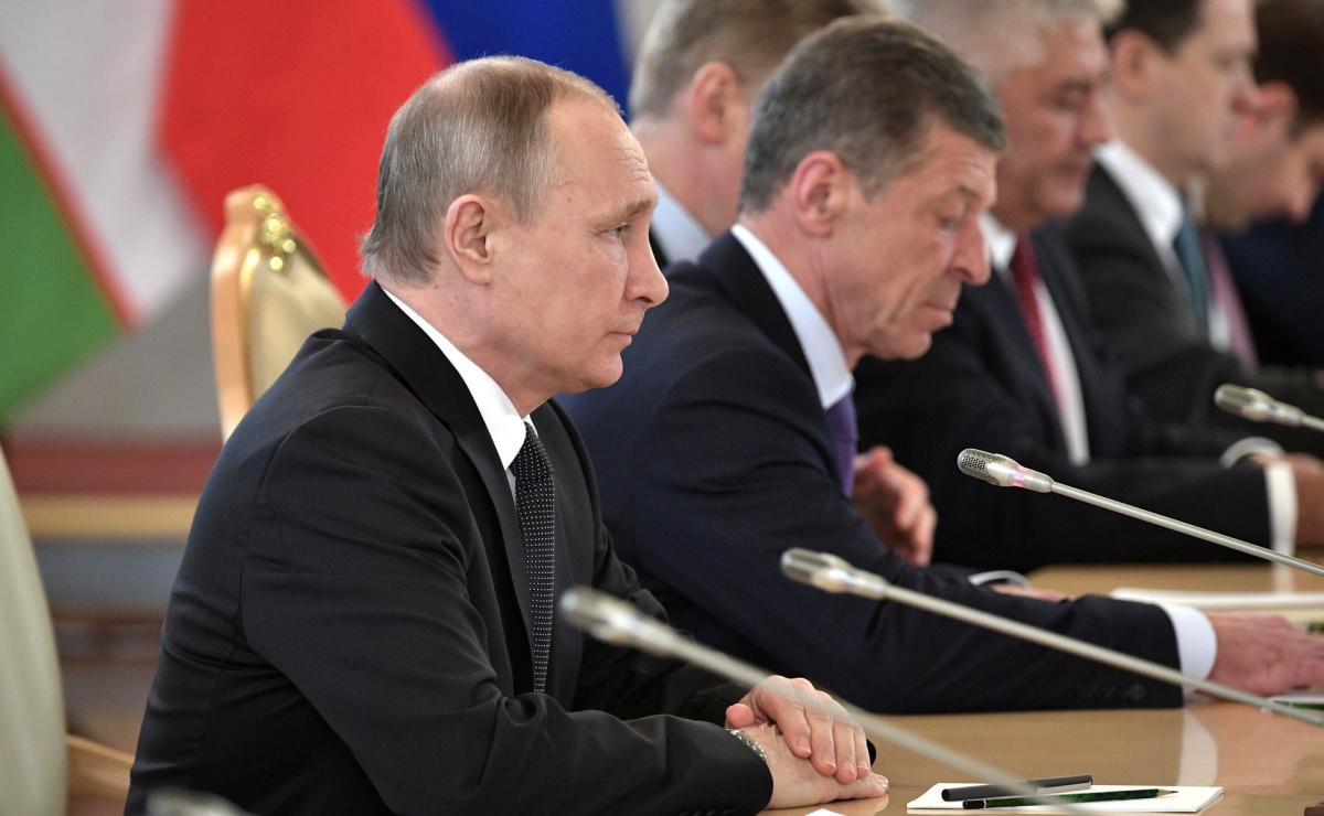 Vladimir Putin in April 2017. Wikimedia Commons/Kremlin.ru