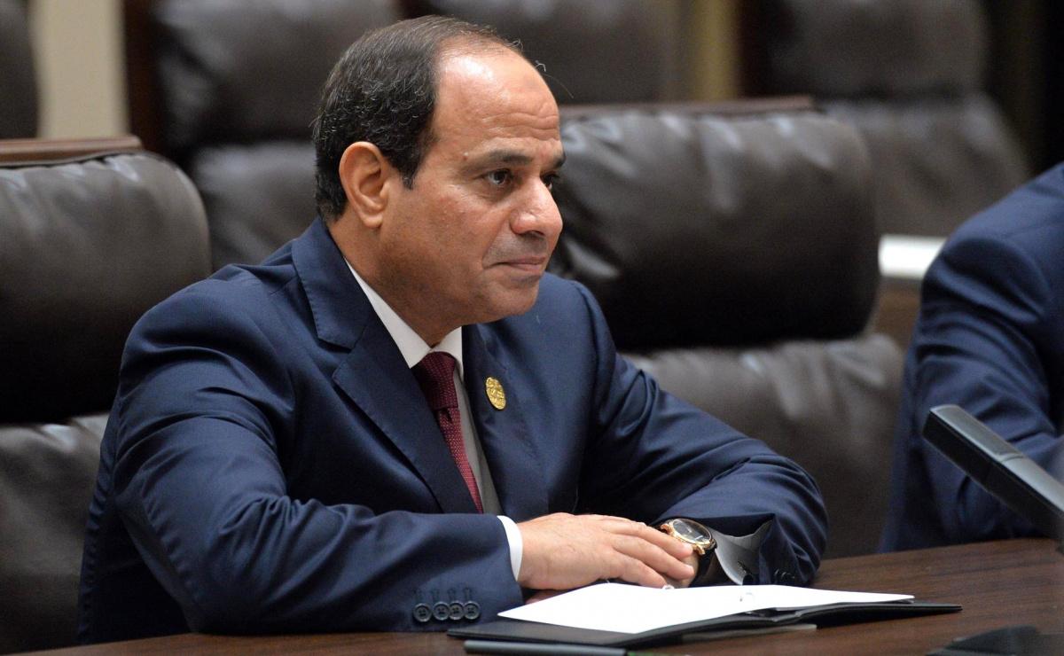 Abdel Fattah el-Sisi meeting with Vladimir Putin. Kremlin.ru