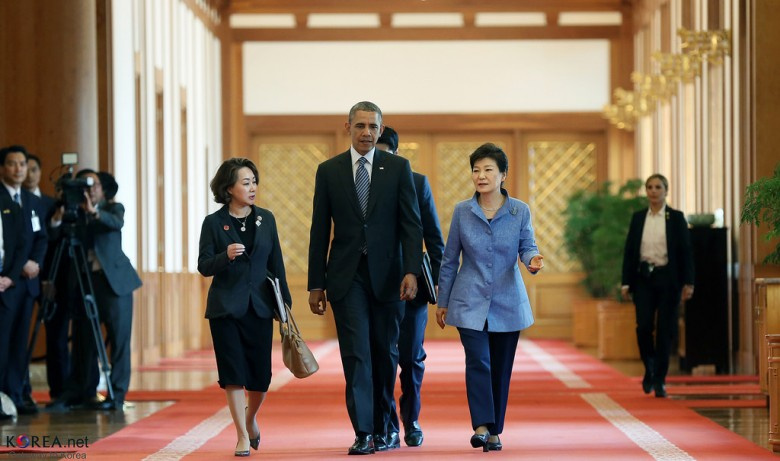 La estrategia de Obama en el Lejano Oriente(con artículos en inglés) Southkorea_pd_050614