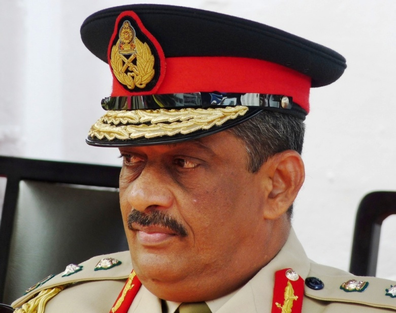 Sri Lankan politician and officer Sarath Fonseka. Wikimedia Commons/Rajith Vidanaarachchi