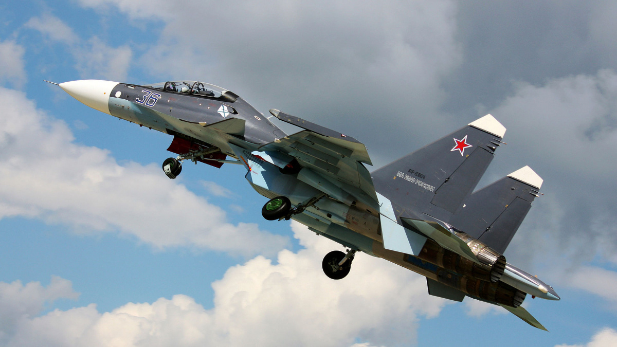 One of Russia's Most Lethal Fighter Jets Has a Strange New ...