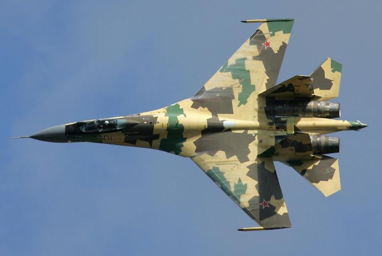 انباء عن طلب الجزائر لشراء مقاتلات Su-35 من روسيا  Su35