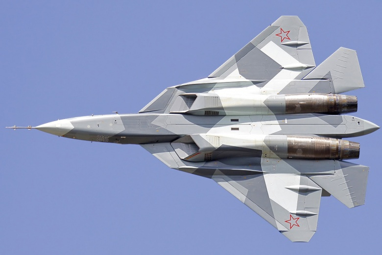 Su-57 Stealth Fighter: News #7 - Page 5 Sukhoi_t-50_in_2011_0
