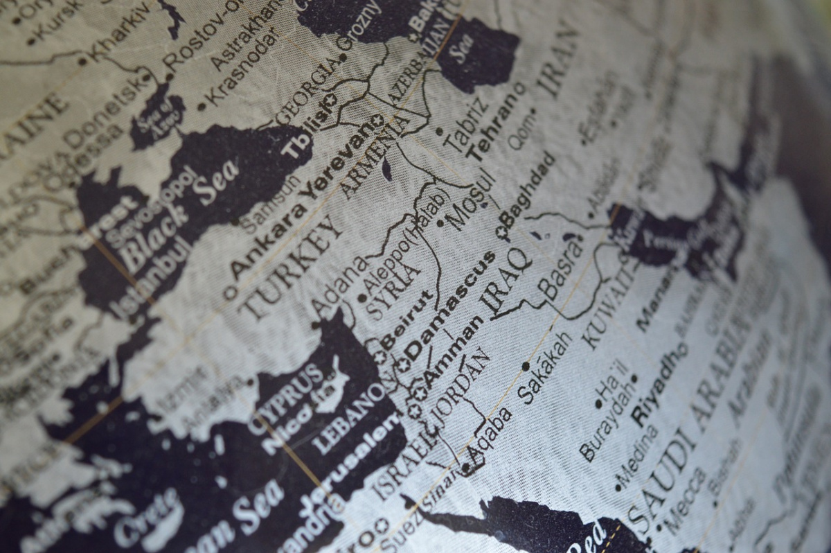 Globe featuring Middle East. Pixabay/Public domain