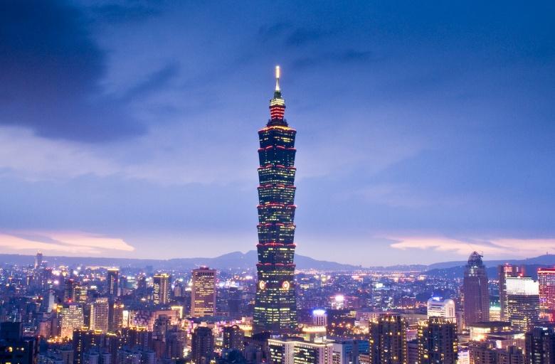 Taipei 101 at twilight. Flickr/Jack Chi