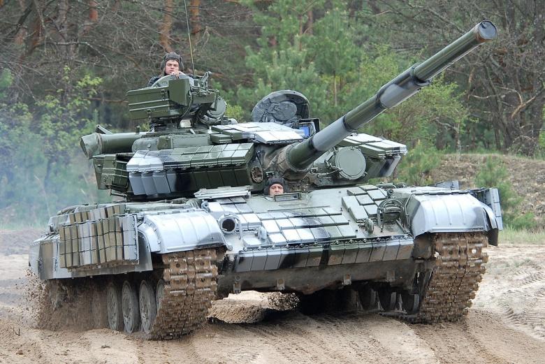 T-64BV tank. Wikimedia Commons/Serhiy Popsuevich