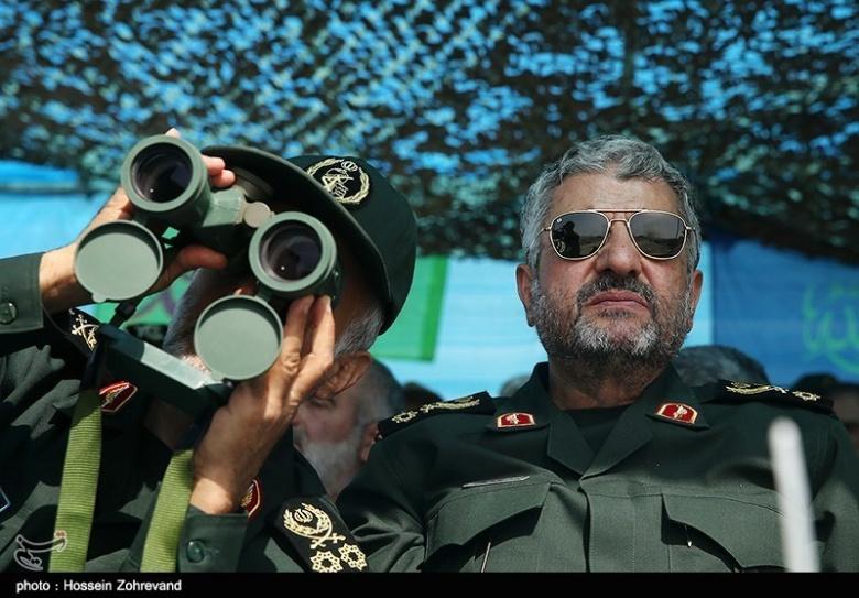 Maj. Gen. Mohammad Ali Jafari at 2015's Great Prophet exercises. Tasnim News/Hossein Zohrevand