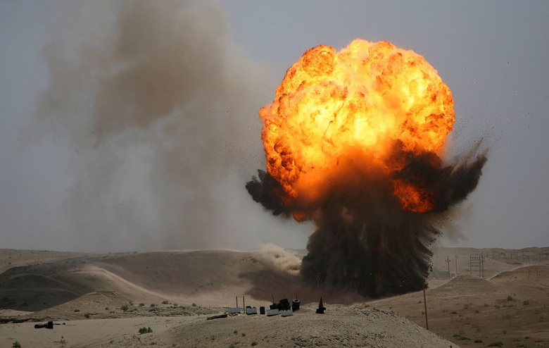 An Iraqi bomb disposal company at Camp Taqaddum, Iraq. Wikimedia Commons/U.S. Marine Corps