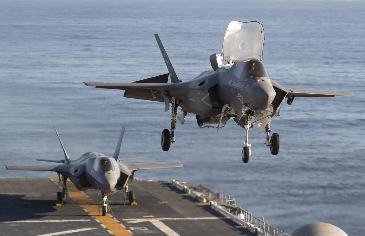 F-35Bs on board the USS America. Flickr/Lockheed Martin