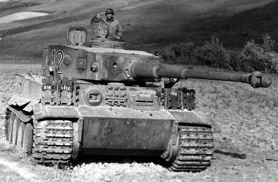 Battle Of The Bulge Tiger Tanks