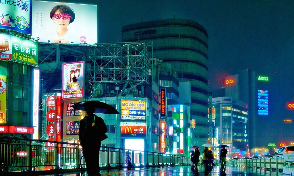 Tokyo at night. Wikimedia Commons/Creative Commons/Moyan Brenn