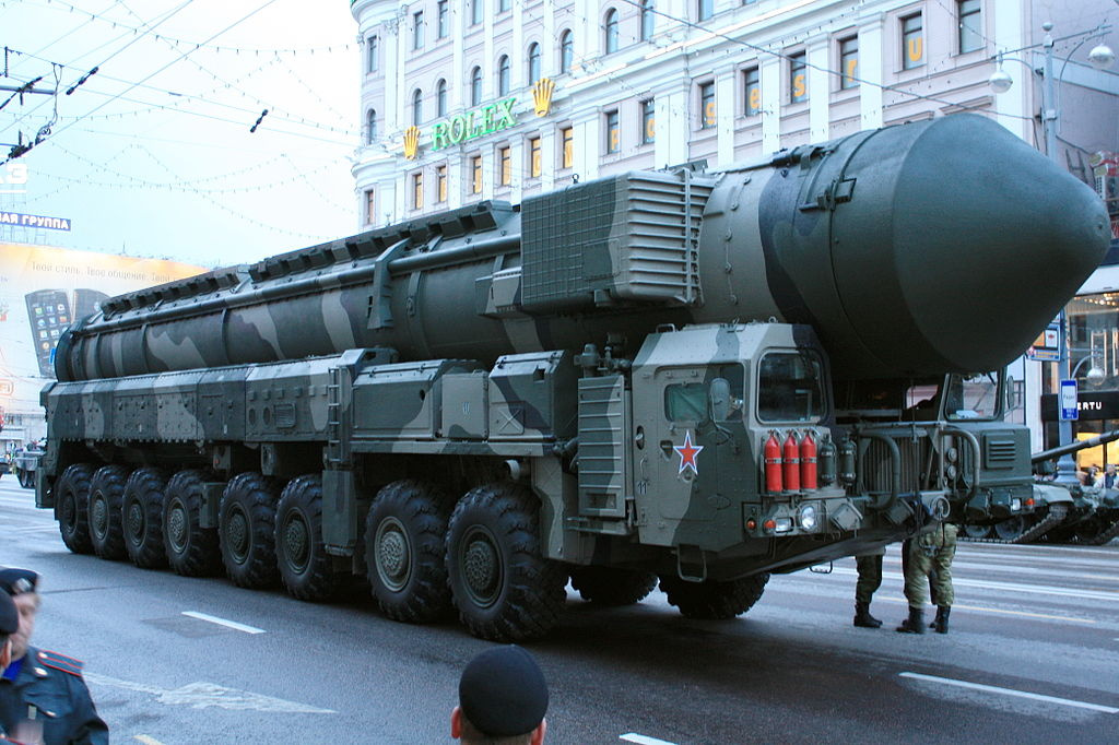 Russian Topol-M missile. Wikimedia Commons/Creative Commons/@Goodvint