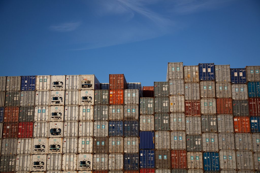 Shipping containers in Auckland, New Zealand. Flickr/Creative Commons/@russellstreet